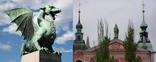 Λιουμπλιάνα, Σλοβενία, παλιά πόλη, ταξίδι, Ε.Ε., παράδοση, πολιτισμός