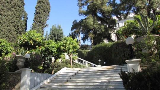 Νέα Ανάκτορα Αθήνας, Προεδρικό μέγαρο, Ηρώδου Αττκού