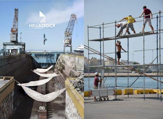 Πειραιάς, «εφήμερη πόλη», αρχιτεκτονικό εργαστήρι, λιμάνι, αιωρούμενη πόλη, HELLAΣTOCK