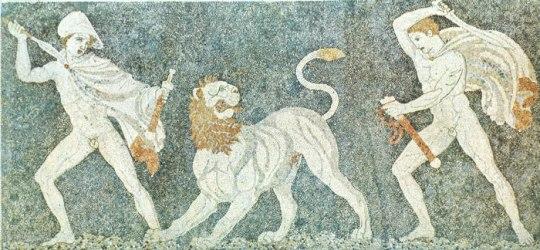 Ηφαιστίων, Μέγας Αλέξανδρος, Τύμβος Αμφίπολης, εραστές