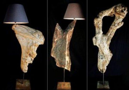 Παρασκευάς Μπουμπούρακας, ART, ξύλινα γλυπτά, Ξύλα θαλάσσης, μοντέλο