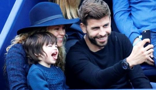 Shakira and Gerad Pique