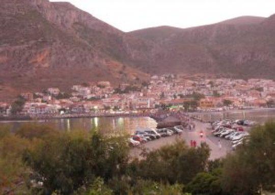 Η πολιορκία της Μονεμβασιάς, Monemvasia, Greece