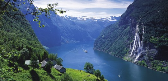 The-Geirangerfjord-Norway-1920