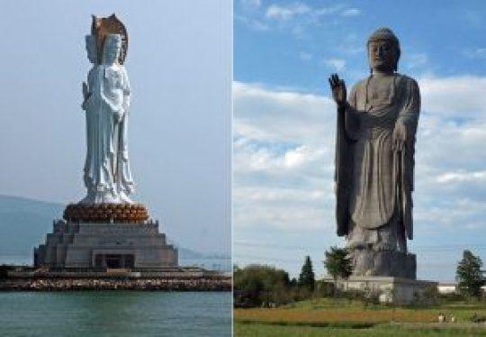 Τα πιο ψηλά αγάλματα στον κόσμο