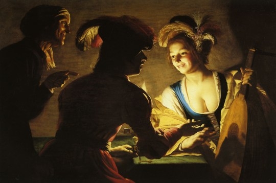 Gerrit van Honthorst, The Procuress