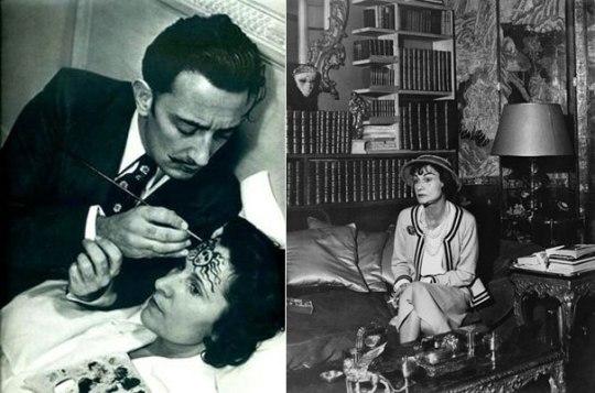 Coco-Chanel, Salvatore Dali