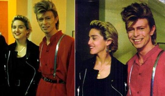 David-Bowie, MADONNA