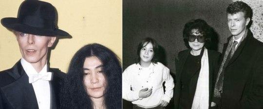 David-Bowie, YOKO ONO