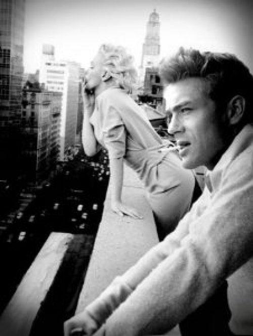 James Dean, Τζέημς Ντιν, Marilyn Monroe