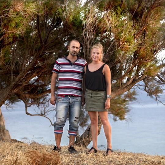 Ο 30χρονος Σάφι από τη Συρία και η 22χρονη Κέα από τη Γερμανία