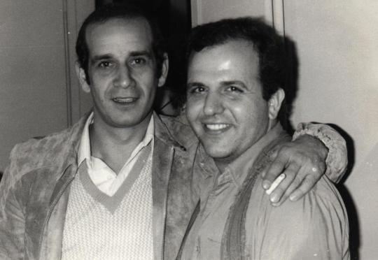 1981 με τον Δημήτρη Μητροπάνο