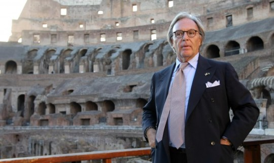 2 The head of Tod's, a luxury Italian shoe company, Diego Della Valle.