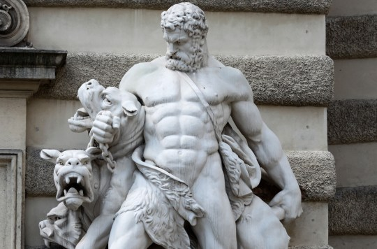 Hercules-muscle-sculpture