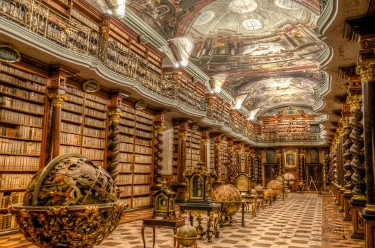 Library-of-Escorial-Spain