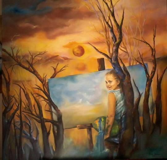 Λένα Βάκα, ζωγραφική