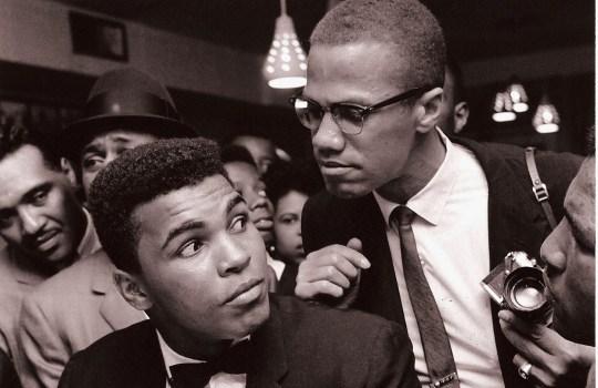 Malcolm X , Muhammad Ali, New York, 1963