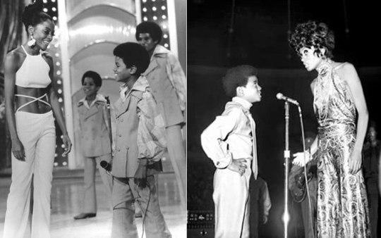 Diana Ross, Michael Jackson