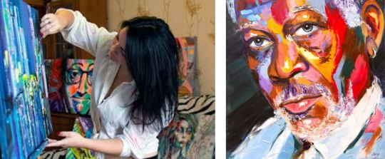 Lana Tikhonova, ζωγράφος