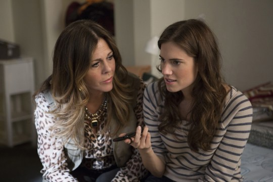 GIRLS, TV, HBO, allison williams, rita wilson