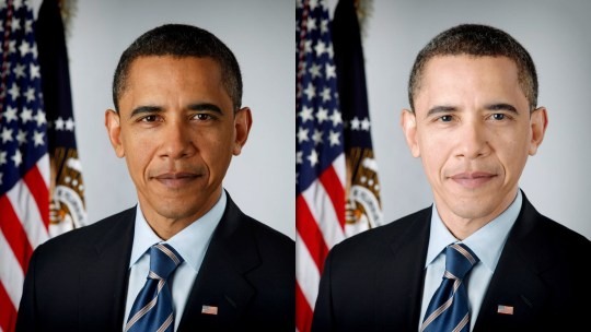Ομπάμα, photoshop