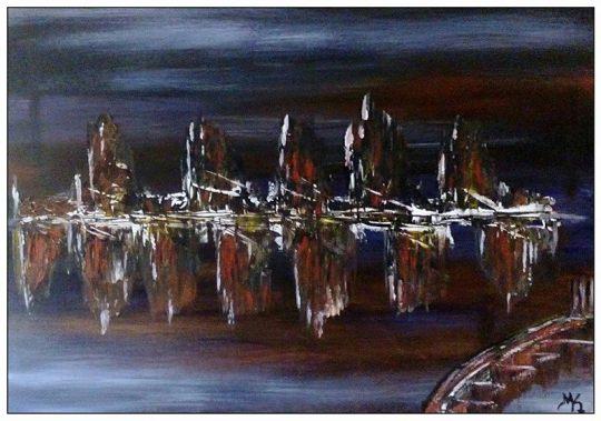 Μαρία Καλαντζή, ζωγραφική, εικαστικά,