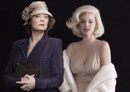 The secret life of Marilyn Monroe, TV, Susan Sarandon