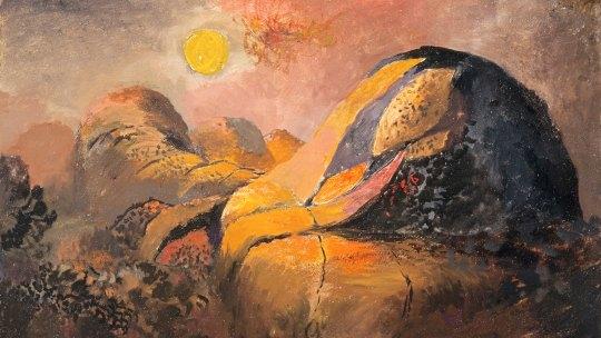 Western Hills, 1938-41, GRAHAM SUTHERLAND, ΓΚΡΑΧΑΜ ΣΑΔΕΡΛΑΝΤ, ΖΩΓΡΑΦΟΣ, ΕΙΚΑΣΤΙΚΑ,