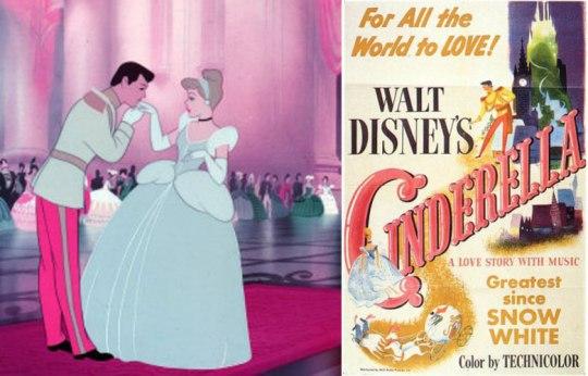 Σταχτοπούτα, Walt Disney.