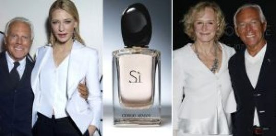 Ladies, Armani, Cate Blanchett, Glenn Close