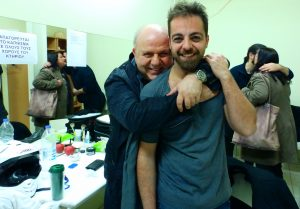 Παγκόσμια ημέρα θεάτρου, Νίκος Μουρατίδης, Προμηθέας Αλειφερόπουλος