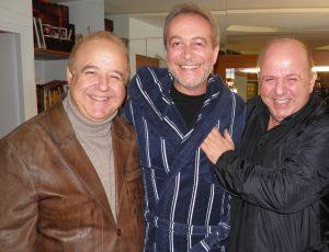 Παγκόσμια ημέρα θεάτρου, Νίκος Μουρατίδης, Νίκος Χαϊκάλης, Γρηγόρης Βαλτινός