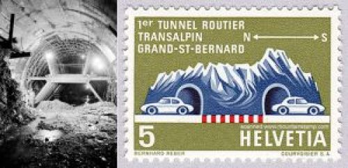 Tunnel, Helvetia- Italy