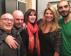 Παγκόσμια ημέρα θεάτρου, Νίκος Μουρατίδης, Μπέτυ Βακαλίδου, Αλέκος Συσοβίτης