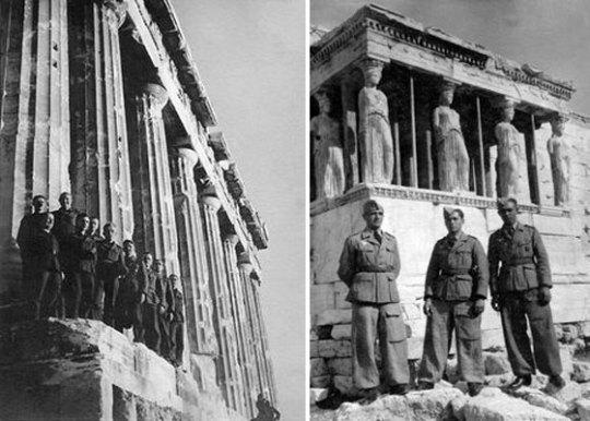 Οι Γερμανοί στην Αθήνα, Κατοχή, 1941, Β΄Παγκόσμιος Πόλεμος, Nazi, Germans, WWII, Athens, nikosonline.gr
