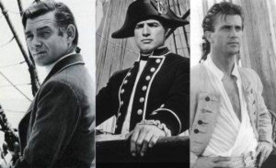 Ανταρσία του Bounty, Clark Gable, Marlon Brando, Mel Gibson