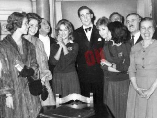 Αλίκη Βουγιουκλάκη, διάδοχος Κωνσταντίνος, φλερτ, έρωτας, πρίγκιπας