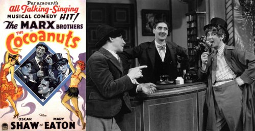 """""""The Cocoanuts"""", Marx Brothers, αδελφοί Μαρξ,"""