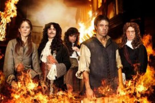 ΤΗΛΕΟΡΑΣΗ, ΜΙΝΙ ΣΕΙΡΑ, Η μεγάλη πυρκαγιά του Λονδίνου, 1666, ITV, The Great Fire, nikosonline.gr