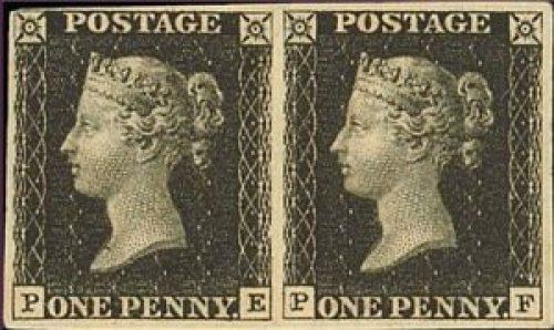 γραμματόσημο, Penny black