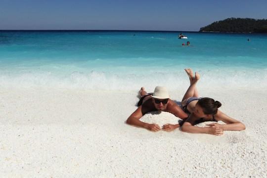 Αυτή η παραλία λέγεται Σαλιάρα, Θάσος, Saliara beach, Thasos island, βόρειο Αιγαίο, νησί, nikosonline.gr