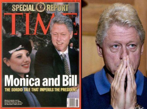 Μόνικα Λεβίνσκι, Bill Clinton,