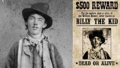 Billy the Kid, Μπίλι δε Κιντ