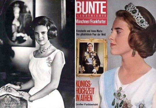 queen anne-marie of greece, vasilissa anna-maria, constantinos II of greece, Denmark, nikosonline.gr