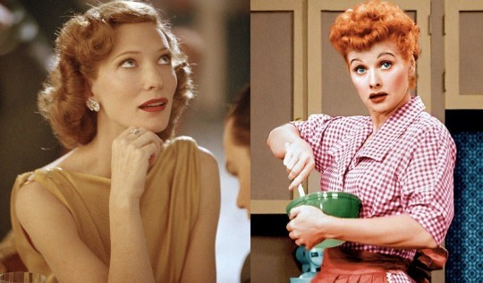 Cate Blanchett, Lucille Ball, ΤΑΙΝΙΑ, MOVIE, CINEMA, I LOVE LUCY, nikosonline.gr