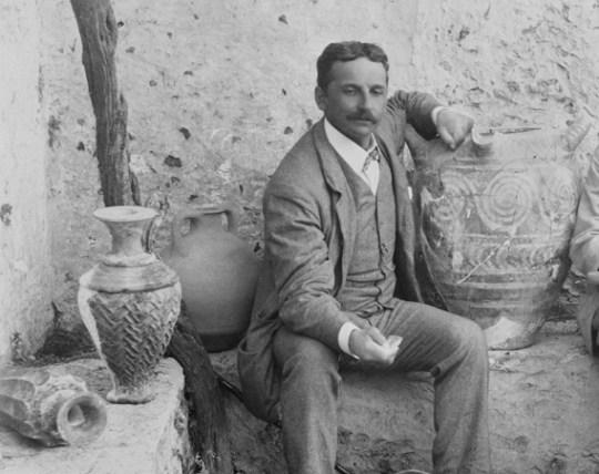 Sir Arthur Evans, σερ Άρθουρ Έβανς, ΤΟ BLOG ΤΟΥ ΝΙΚΟΥ ΜΟΥΡΑΤΙΔΗ, nikosonline.gr