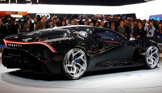 La Voiture Noire, Bugatti, ακριβό αυτοκίνητο, κόσμος, car, Σαλόνι Γενεύη, nikosonline.gr