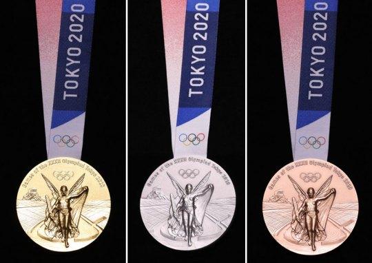 Έτοιμα τα Ολυμπιακά μετάλλια, Ολυμπιακοί αγώνες 2020, Τόκυο, Ιαπωνία, Olympic Games 2020, Tokyo, Japan, Olympic medals, nikosonline.gr