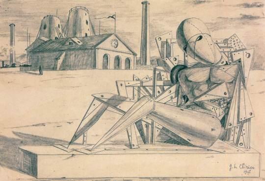 Giorgio de Chirico, Τζόρτζιο ντε Κίρικο, ΤΟ BLOG ΤΟΥ ΝΙΚΟΥ ΜΟΥΡΑΤΙΔΗ, nikosonline.gr