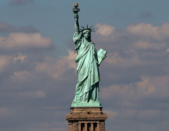 Liberty Statue, ΑΓΑΛΜΑ ΤΗΣ ΕΛΕΥΘΕΡΙΑΣ, ΝΕΑ ΥΟΡΚΗ, 1885, Liberty Island, New York, Γαλλία, 350 κομμάτια, nikosonlione.gr